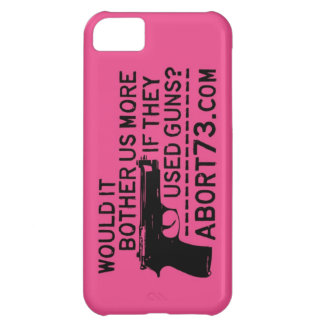 Would it Bother Us More if They Used Guns? Abort73 Cover For iPhone 5C