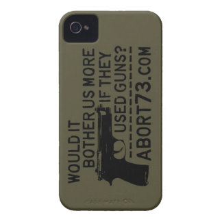 Would it Bother Us More if They Used Guns? Abort73 iPhone 4 Case-Mate Case