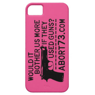 Would it Bother Us More if They Used Guns? Abort73 iPhone 5 Cover