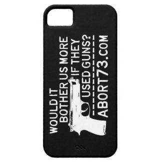 Would it Bother Us More if They Used Guns? Abort73 iPhone 5 Covers