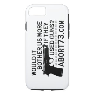 Would it Bother Us More if They Used Guns? Abort73 iPhone 7 Case