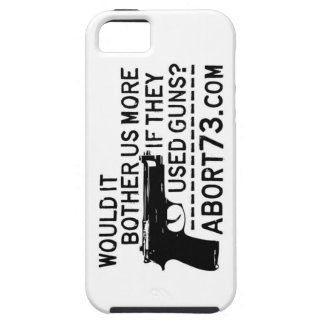 Would it Bother Us More if They Used Guns? Abort73 iPhone SE/5/5s Case