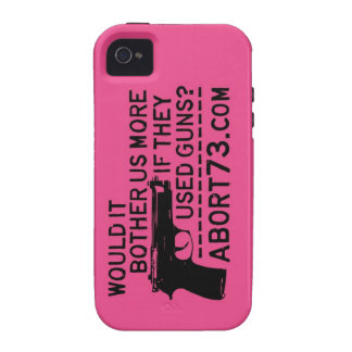 Would it Bother Us More if They Used Guns? Abort73 Vibe iPhone 4 Cases