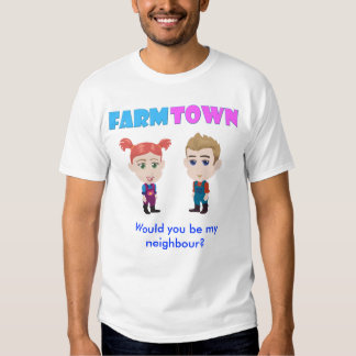 Would you be my neighbour? t-shirt