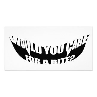 Would You Care For A Bite? Card