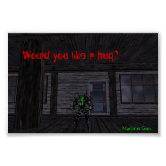 Would you like a hug? poster