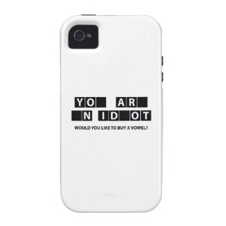 Would You Like To Buy A Vowel? iPhone 4/4S Cases