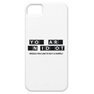 Would You Like To Buy A Vowel? iPhone 5 Case
