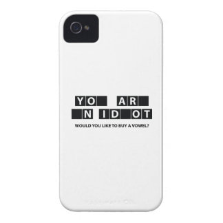 Would You Like To Buy A Vowel? iPhone 4 Case-Mate Cases