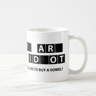 Would You Like To Buy A Vowel? Coffee Mug
