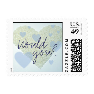Would you? stamp