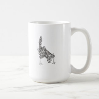 woulf wolf coffee mug