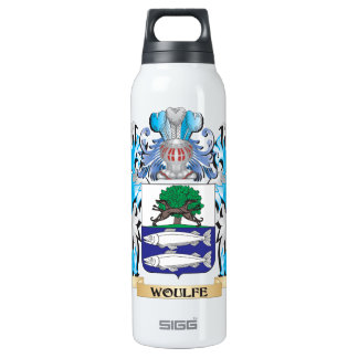 Woulfe Coat of Arms - Family Crest 16 Oz Insulated SIGG Thermos Water Bottle