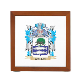Woulfe Coat of Arms - Family Crest Desk Organizers