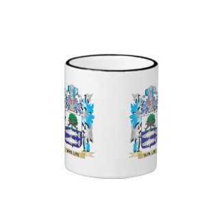 Woulfe Coat of Arms - Family Crest Ringer Coffee Mug