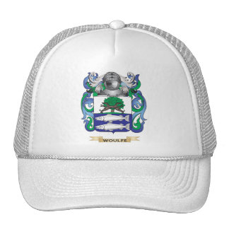 Woulfe Family Crest (Coat of Arms) Trucker Hat