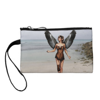 Wounded Angel Change Purse