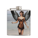 Wounded Angel Flask