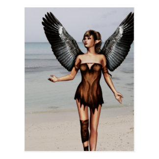 Wounded Angel Postcard