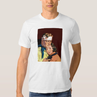 Wounded Cowboy and Girl T Shirt