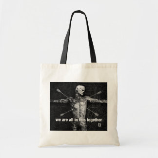 Wounded Man Canvas Tote