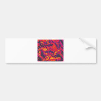 Wounded Prussian Soldier Red Tint Bumper Stickers