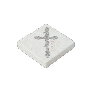 Wounded Stone Magnet