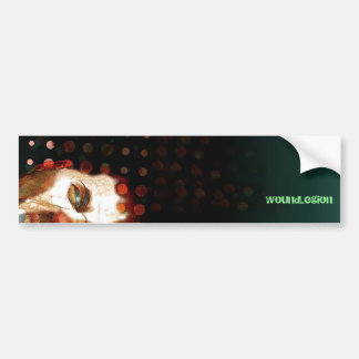 WOUNdLegion Car Bumper Sticker