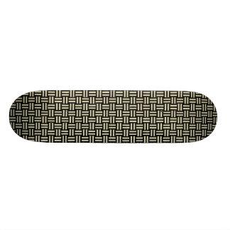 WOV1 BK-MRBL BG-LIN SKATEBOARD DECK