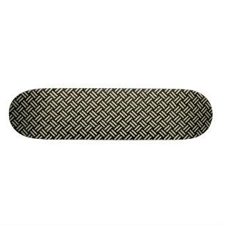 WOV2 BK-MRBL BG-LIN SKATEBOARD DECK
