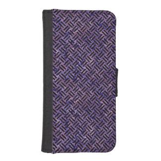 WOV2 BK-PR MARBLE (R) iPhone SE/5/5s WALLET CASE