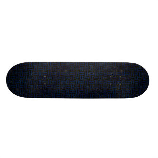 WOVEN1 BLACK MARBLE & BLUE GRUNGE SKATEBOARD DECK