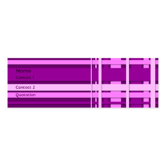 Woven 3 business card templates