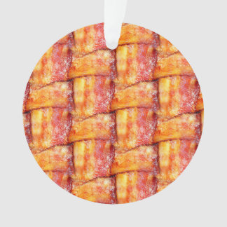 Woven Bacon Ornament