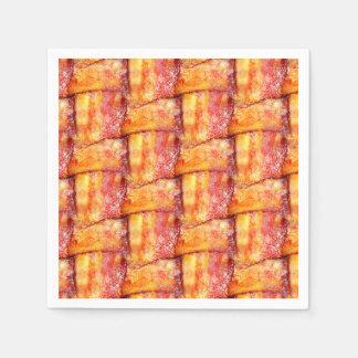 Woven Bacon Paper Napkin