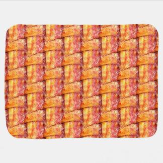 Woven Bacon Swaddle Blanket