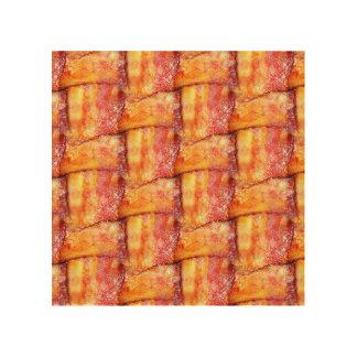 Woven Bacon Wood Wall Art