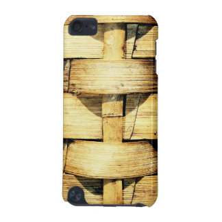 Woven Bamboo Strips - Tiki Torch iPod Touch (5th Generation) Cover
