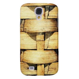 Woven Bamboo Strips - Tiki Torch Samsung Galaxy S4 Case