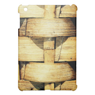 Woven Bamboo Strips - Tiki Torch Cover For The iPad Mini