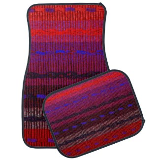 Woven Bands Car Floor Mat