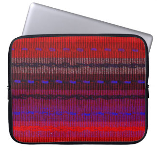Woven Bands Laptop Sleeve