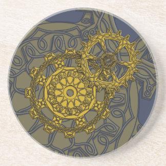 Woven Clockwork Coaster