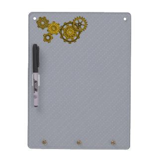 Woven Clockwork Dry Erase Board