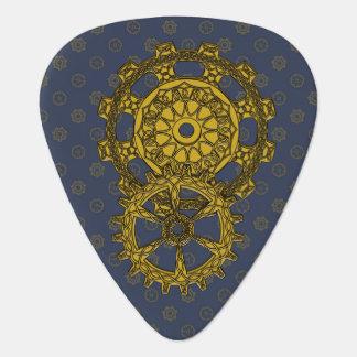 Woven Clockwork Guitar Pick