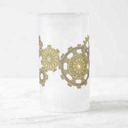 Woven Clockwork Mug