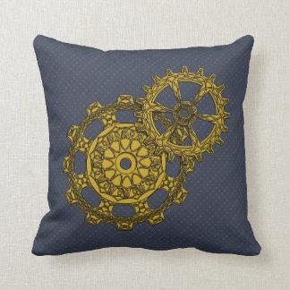 Woven Clockwork Pillow