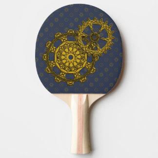 Woven Clockwork Ping Pong Paddle