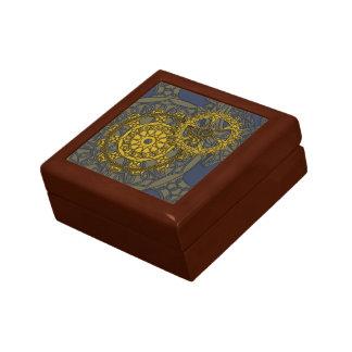 Woven Clockwork Tile Box