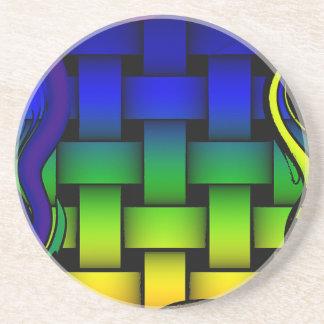 Woven Colors Sandstone Coaster